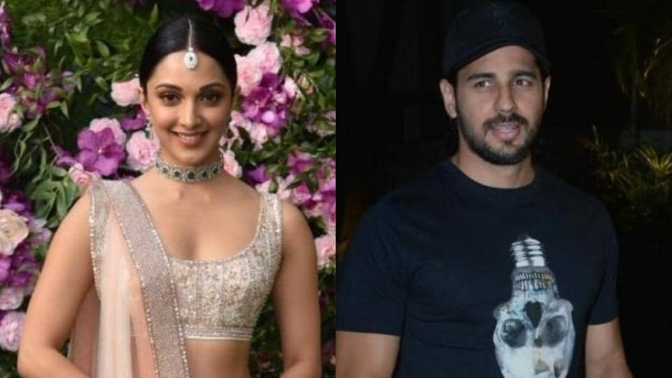 Kiara Advani and Sidharth Malhotra are rumoured to be in a relationship.