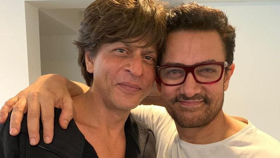 Shah Rukh Khan threw a party and Aamir Khan brought his own tiffin.
