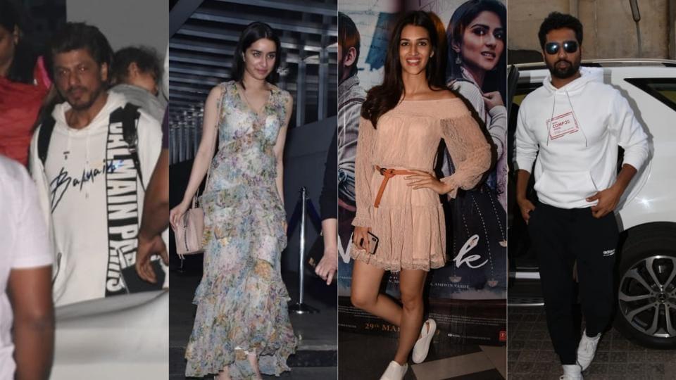 Shah Rukh Khan,Shraddha Kapoor,Kriti Sanon