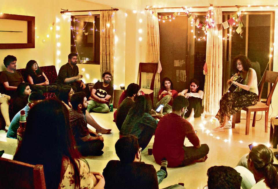 House concert,House Concert India,Sit-Down Session