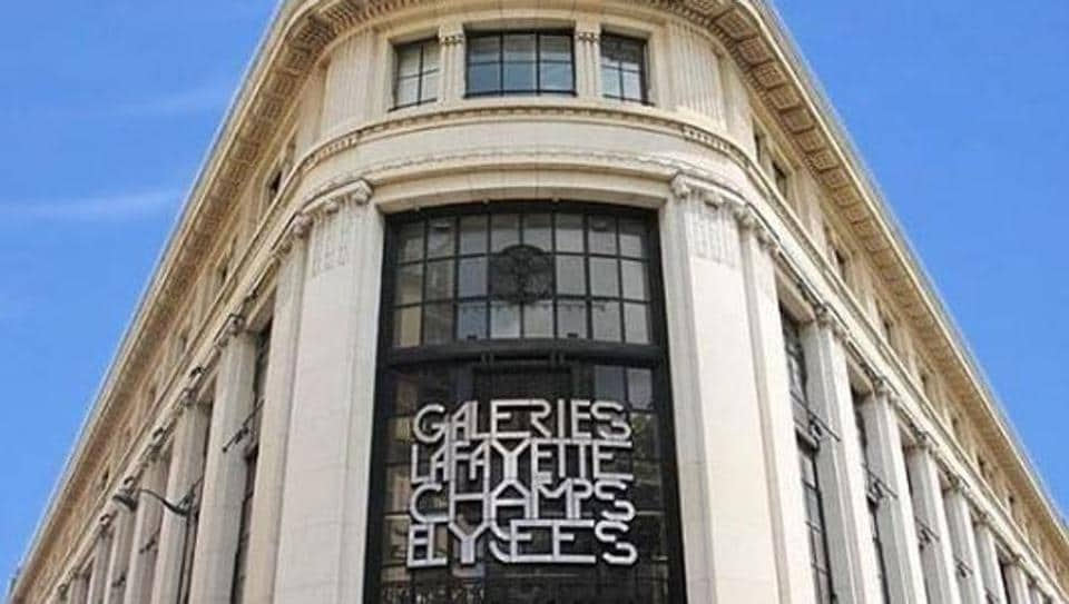 High-end French department store Galeries Lafayette will open a new outlet on Paris's Champs Elysees this week.
