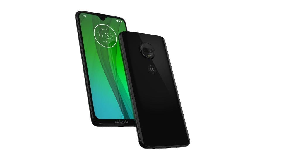Moto G7 is priced at Rs 16,999.