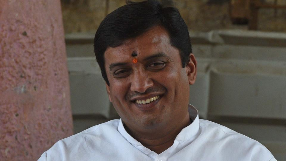 Dhananjay Mahadik, Member of Parliament from Nationalist Congress Party (NCP) in Kolhapur.