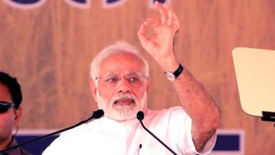 For the past five years, Modi's imagemakers have relentlessly worked to cast their leader as a larger than life hero