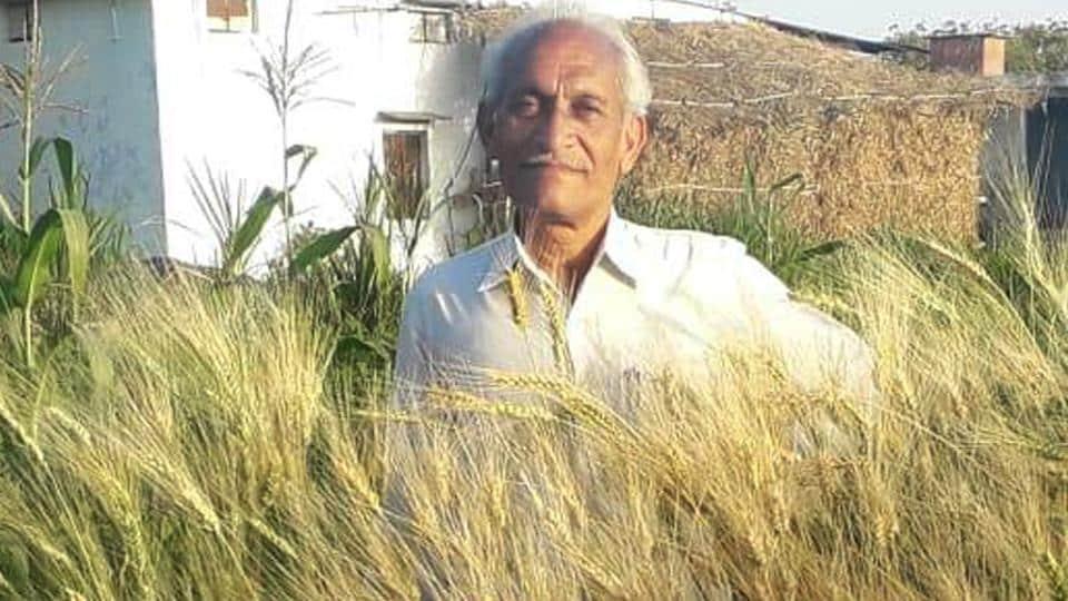 Hukumchand Patidar, who studied till class X, took to organic farming in  2003.