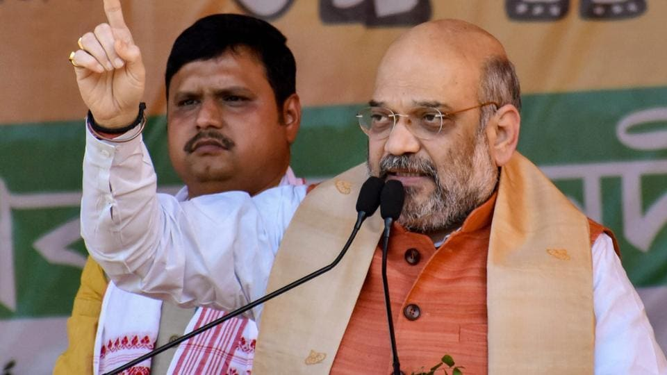 Amit Shah also slammed the erstwhile Tarun Gogoi-led Congress government in the state for allegedly settling illegal immigrants inside the Kaziranga National Park.