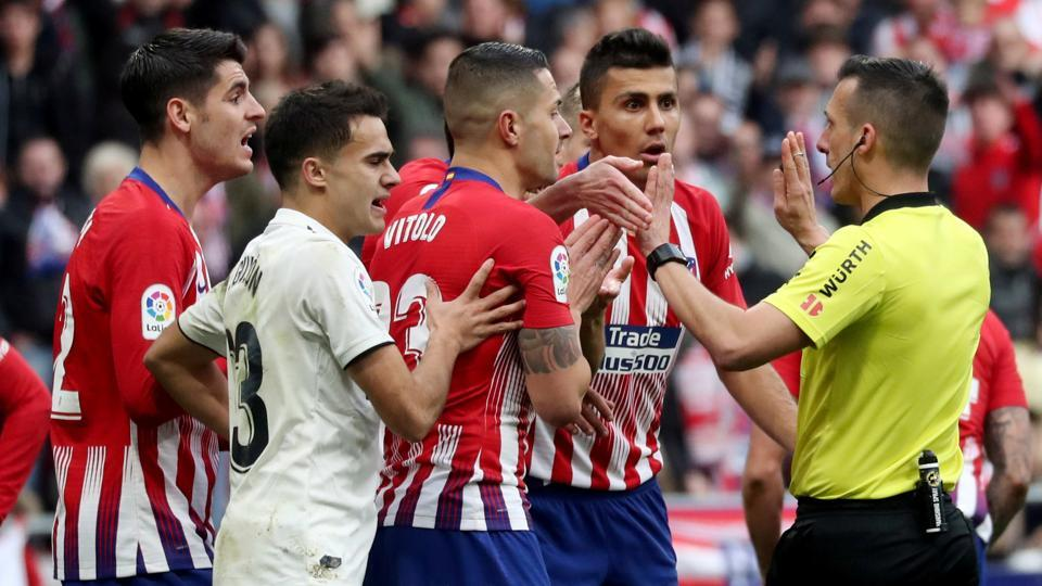 Madrid Derby In Usa Highlights Pre Season Champions Cup Football
