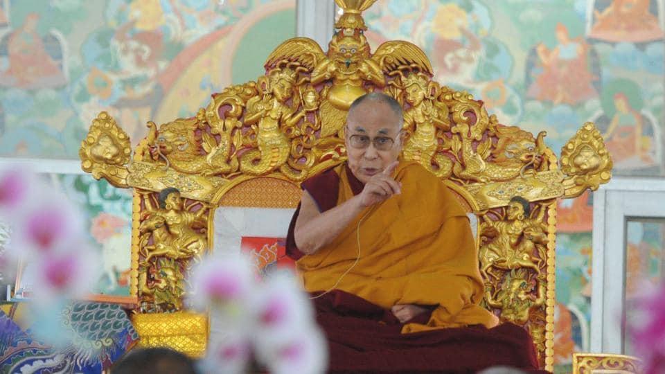 China praises Communist party-led progress in Tibet (Photo by Parwaz Khan / Hindustan Times)