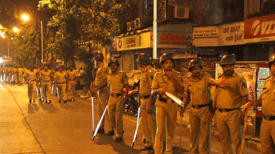 Foot patrolling is set to return to western Mumbai, from Bandra to Oshiwara and Powai. (Vijayanand Gupta/HT File Photo)