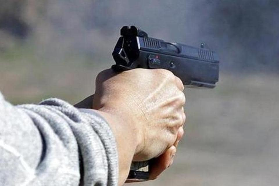 At least four armed men robbed a businessman's SUV at gunpoint after assaulting him and holding him hostage for several hours on Saturday night near a crusher zone(a place where stones are crushed) at a T-point near the Kherki Daula toll plaza.