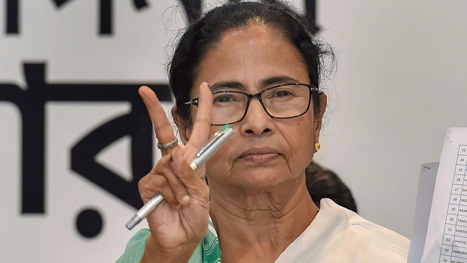 West Bengal chief minister and Trinamool Congress chief Mamata Banerjee.