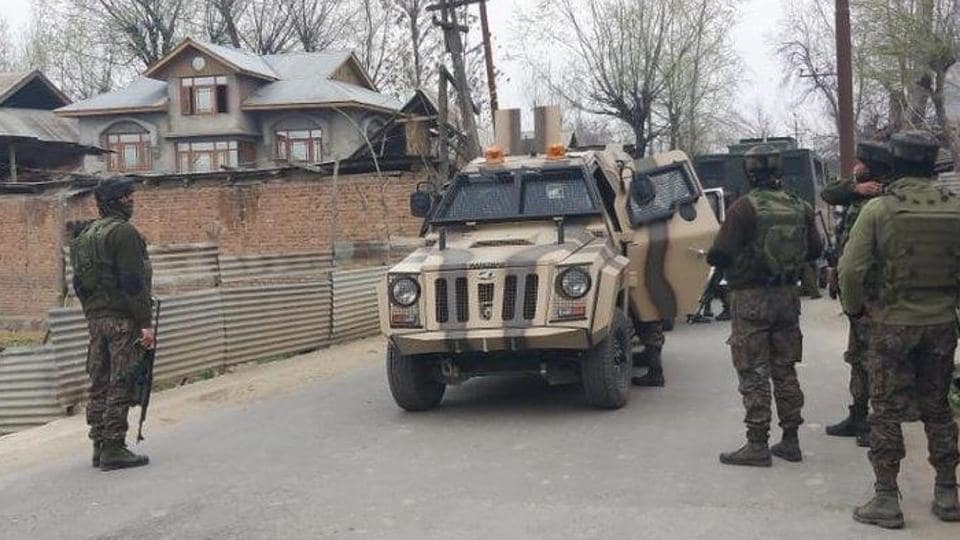 The encounter between the militants and security forces started in Nowgam on the city outskirts in Budgam district and the cordon and search operation, which was launched in Friday morning.