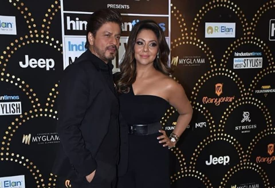 Shah Rukh Khan,Gauri Khan,HT India's Most Stylish Awards 2019