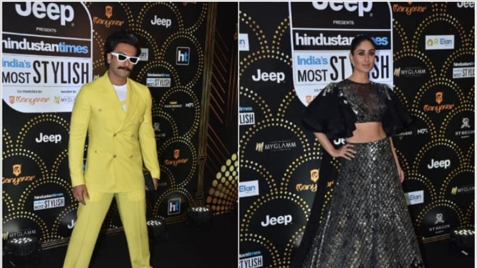 HT India's Most Stylish 2019: From Kareena Kapoor to Ranveer