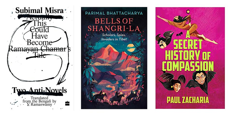 This week's good reads include an inventive novel with wild characters, a book that looks at expeditions into Tibet, and a translation of an experimental novel.