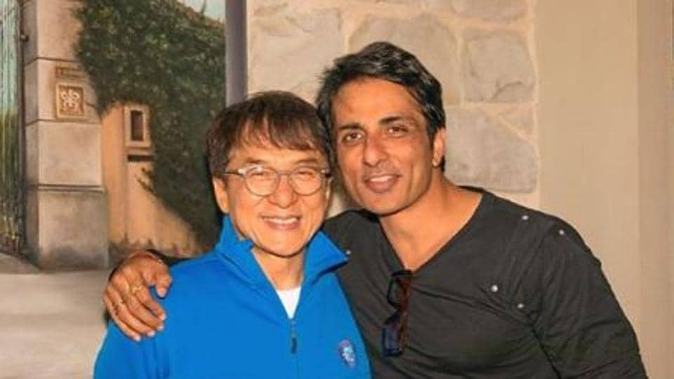 Sonu Sood and Jackie Chan worked together on Kung Fu Yoga.