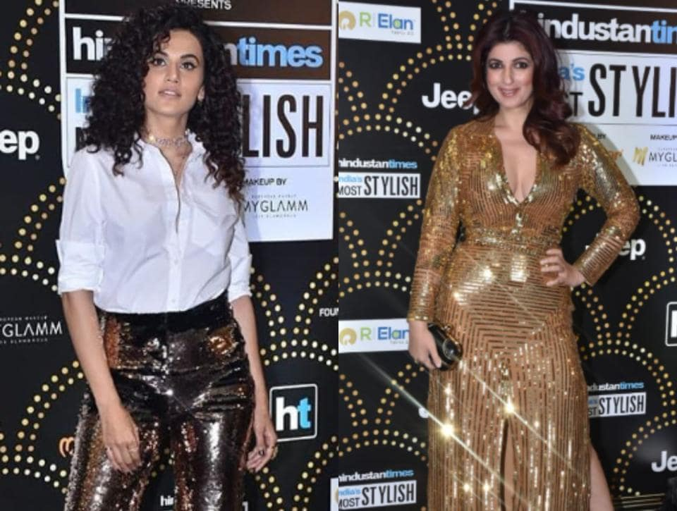 B-town celebs revisit the 80's disco fashion in style at the HT India's Most Stylish Awards, 2019.
