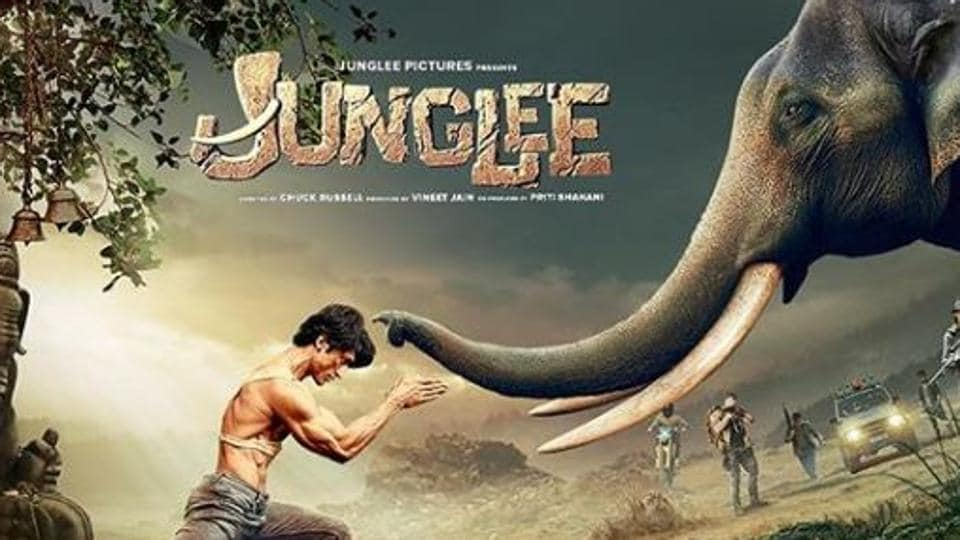 Junglee stars Vidyut Jammwal in the lead role.