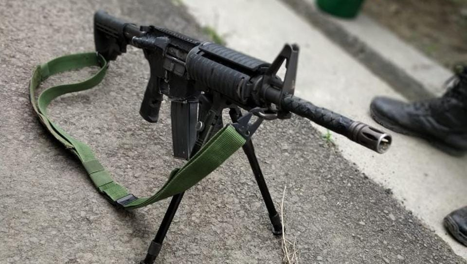 Pulwama attack,US-Made rifle,Kashmir