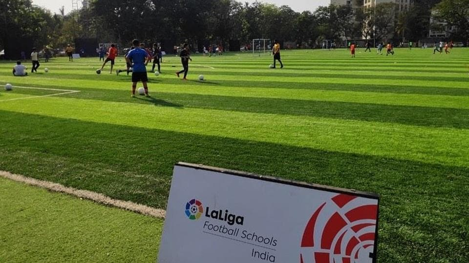 La Liga football schools to hold training camps for students across India.