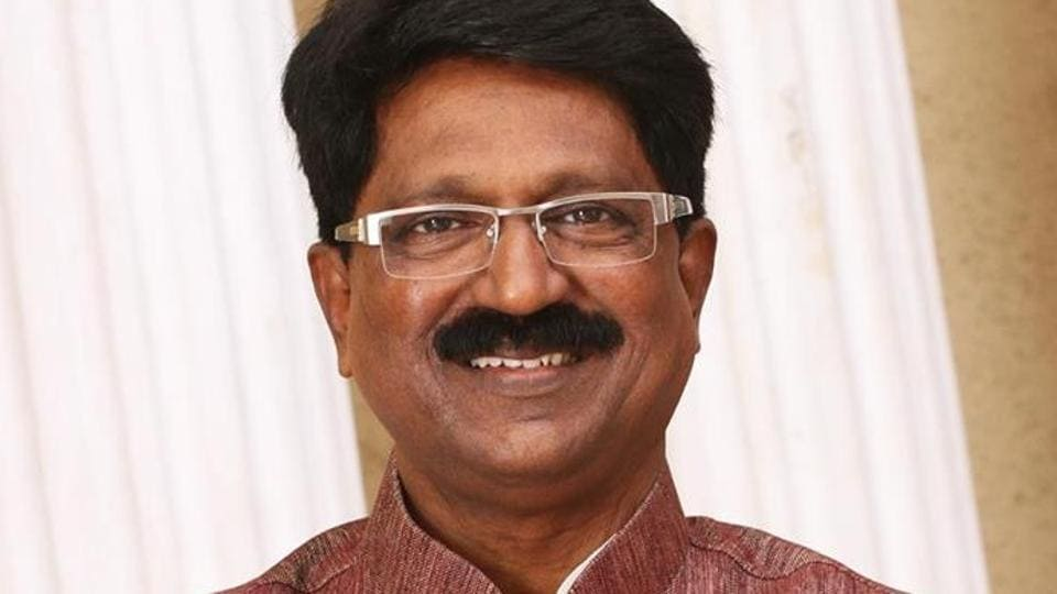 Arvind Sawant - Shiv Sena candidate for Lok Sabha 2014 constituency of Mumbai South