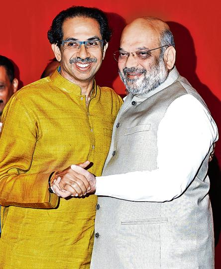 Shiv Sena chief Uddhav Thackeray, who was once involved in a bitter tussle with BJP chief Amit Shah, will be accompanying the latter as he files his nomination for the Lok Sabha election from Gandhinagar constituency in Gujarat on Saturday