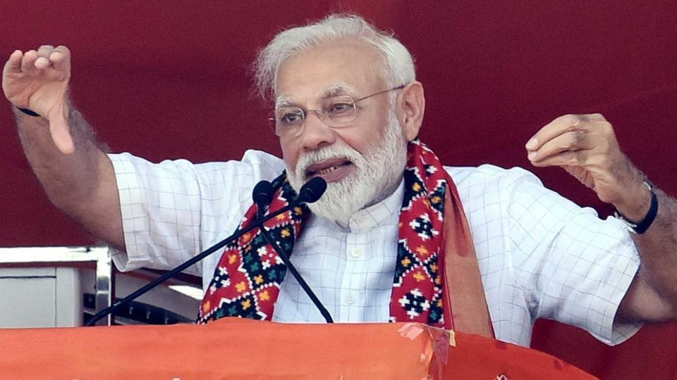 Prime Minister Narendra Modi said on Friday his ruling coalition would increase its majority in India's upcoming election.