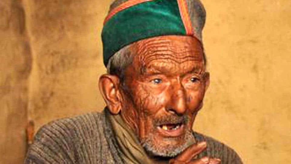 lok sabha elections 2019,india's first voter,shyam saran negi