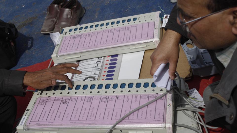 BJP,EVM,Nagpur