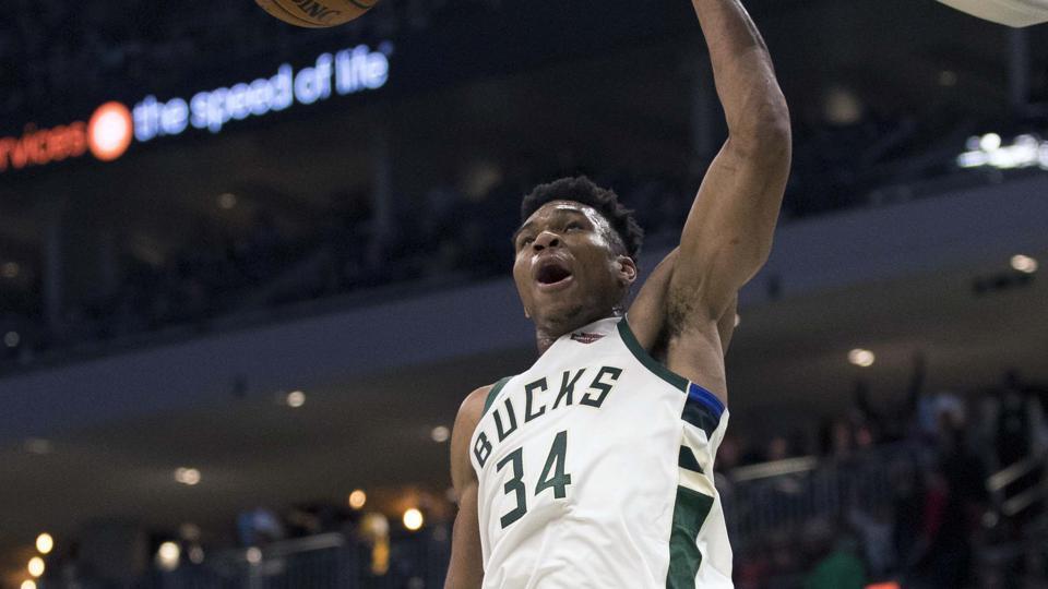 NBA Roundup,Milwaukee Bucks,Giannis Antetokounmpo