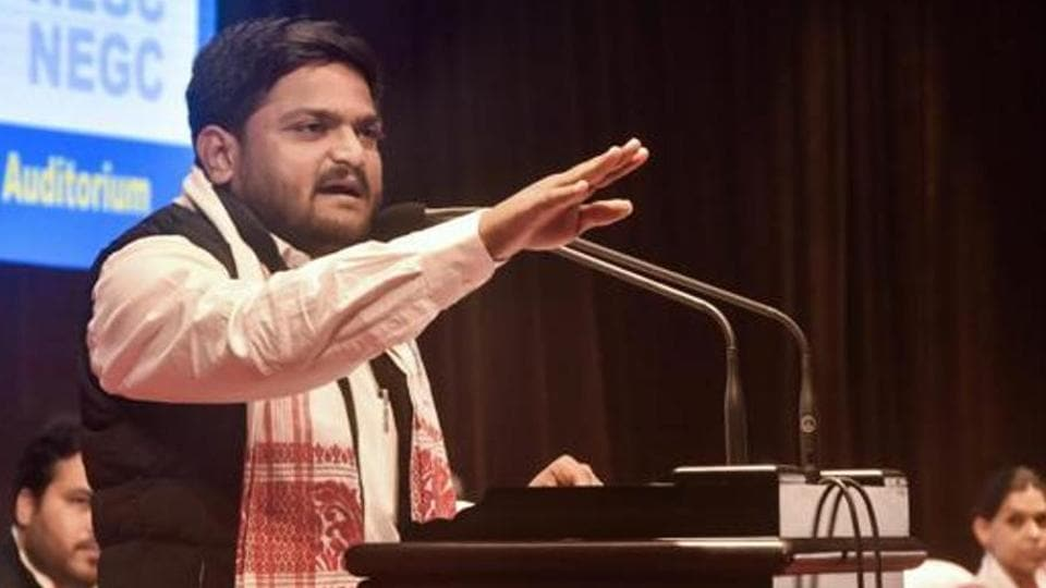 Hardik Patel was awarded two years sentence by a Visnagar court for leading a mob that ransacked local MLA Rishikesh Patel's office in July 2015.