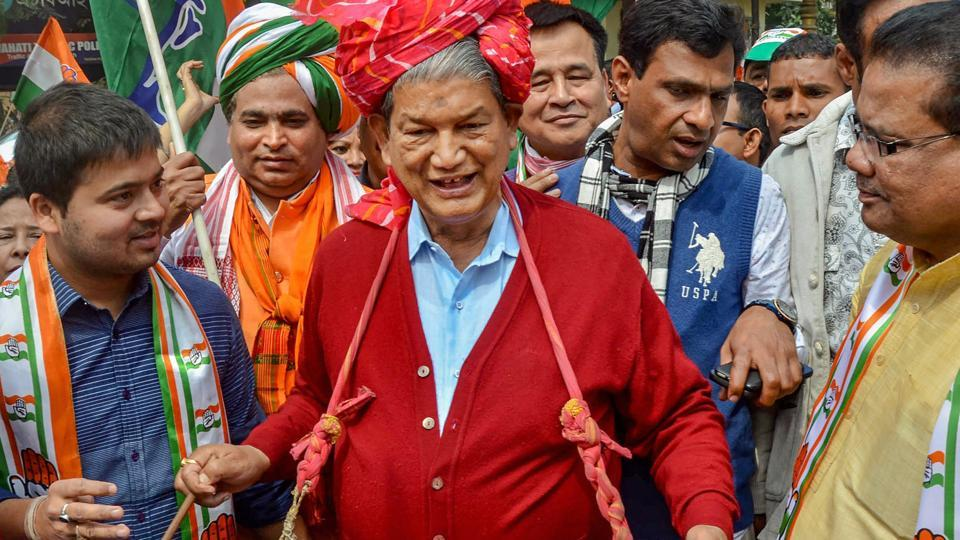 Harish Rawat is the Congress candidate from the Nainital Lok Sabha constituency in Uttarakhand.