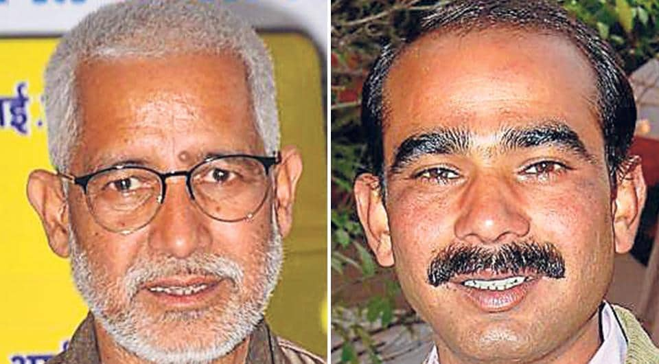 Pradeep Tamta (Left) of the Congress is pitted against Ajay Tamta of the BJP in the Almora Lok Sabha seat.