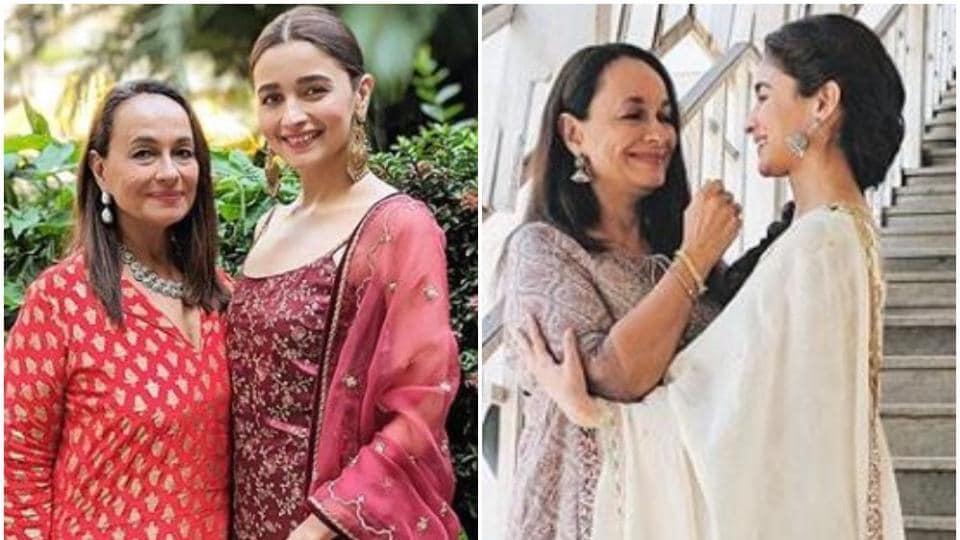 Alia Bhatt,Soni Razdan,Kalank