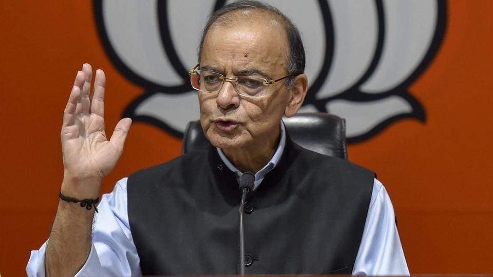 Writing a blog titled 'UPA makes corruption a cause' on Facebook, Jaitley said the tax authorities had already clarified that the raids were not on any politicians but against contractors and engineers.