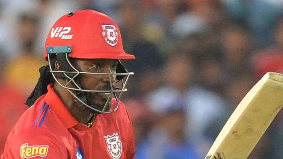 IPL 2019,KXIP vs MI,Chris Gayle