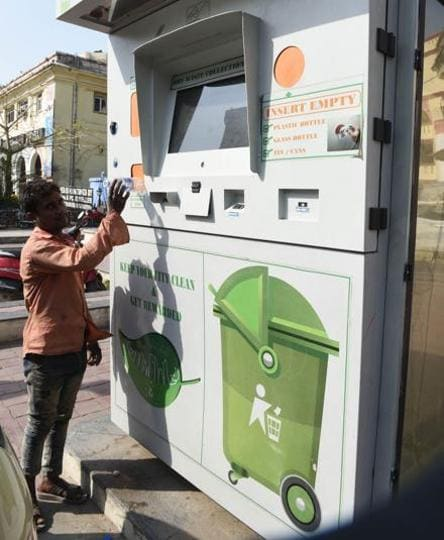 Garbage collection kiosks set up at eight locations in Lucknow, more to come.