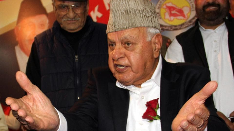 "Former Jammu and Kashmir chief minister Farooq Abdullah appeared to head right into a row for his statement that he had ""doubts"" about the February 14 Pulwama suicide bombing that killed 40 CRPF soldiers."