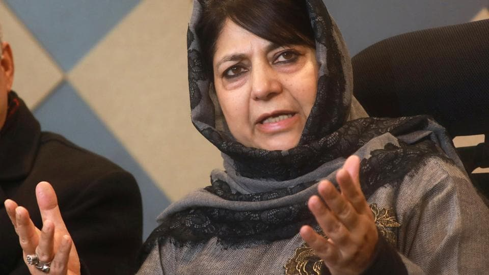 Article 370 of the Constitution is a bridge between Jammu and Kashmir and India and if it goes, people in the state will be forced to think if they want to be with New Delhi or not, former Chief Minister Mehbooba Mufti said on Saturday.