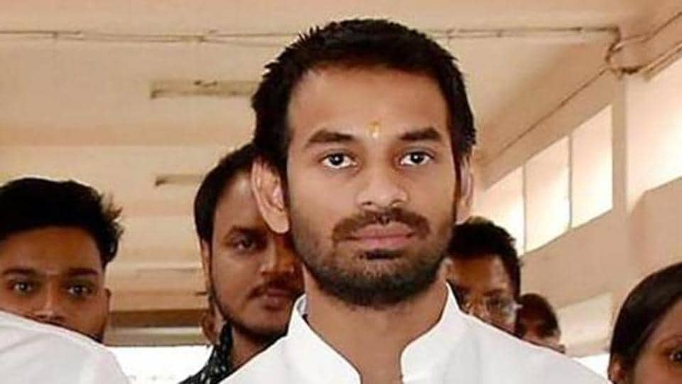RJD founder Lalu Prasad Yadav's elder son and MLA Tej Pratap Yadav on Saturday announced that he would back Chandraprakash Yadav from the Jehanabad  Lok Sabha seat.