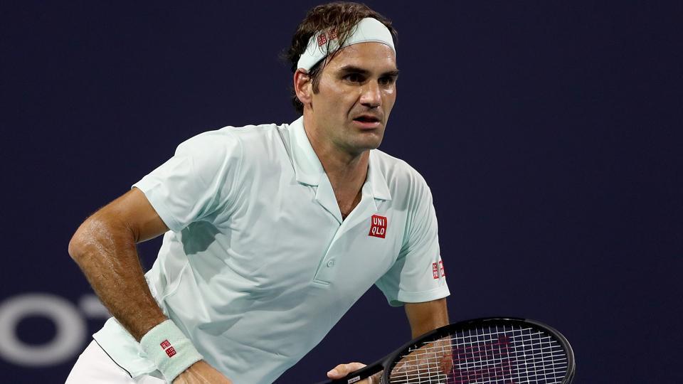 Roger Federer,John Isner,Miami crown