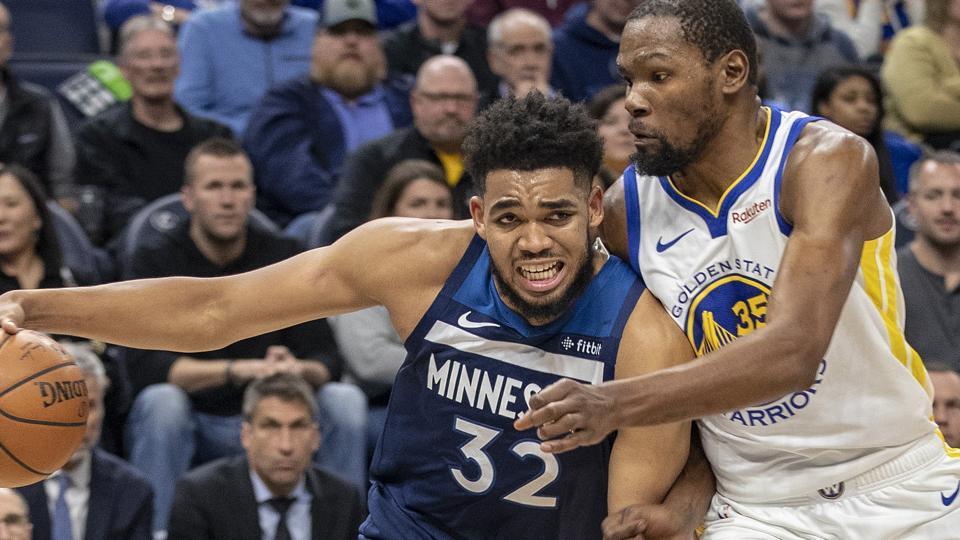 NBA Roundup,Minnesota Timberwolves,Golden State Warriors