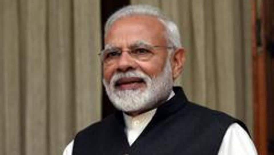 Prime Minister Narendra Modi on Saturday hit out at the Congress-led Opposition at all the three election rallies that he addressed during the day in the north-east — one in Arunachal Pradesh and two in Assam.Photo by Sonu Mehta/ Hindustan Times)