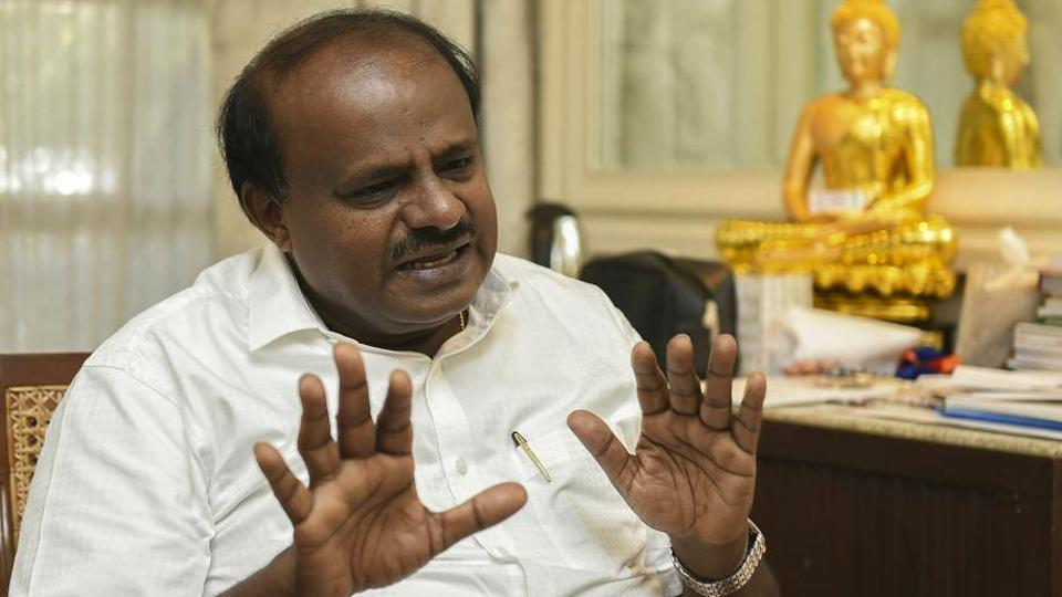 Karnataka chief minister H D Kumaraswamy Saturday accused the Income Tax department of 'harassing' Congress and JD(S) workers.