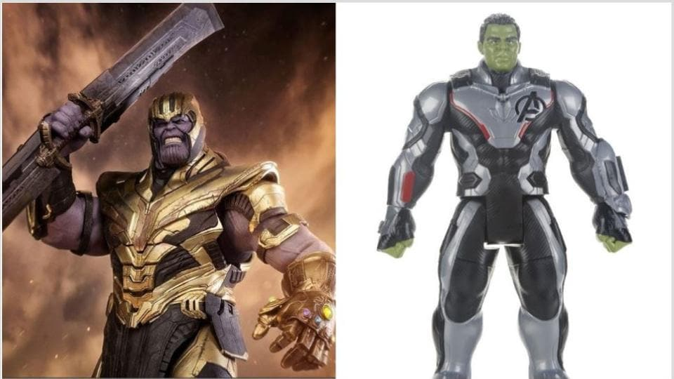 Thanos and Hulk get an upgrade in new toys from Avengers: Endgame lines.