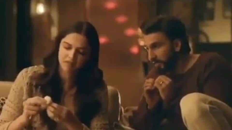 Deepika Padukone and Ranveer Singh feature in a new AC ad.