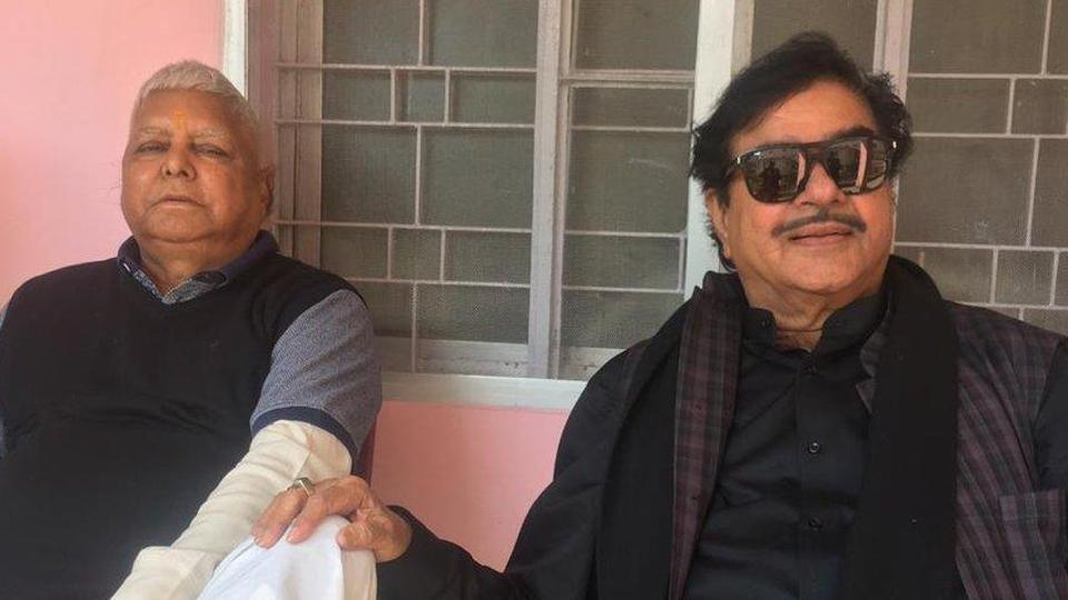 Lalu Prasad,Shatrughan Sinha,Lok Sabha elections 2019
