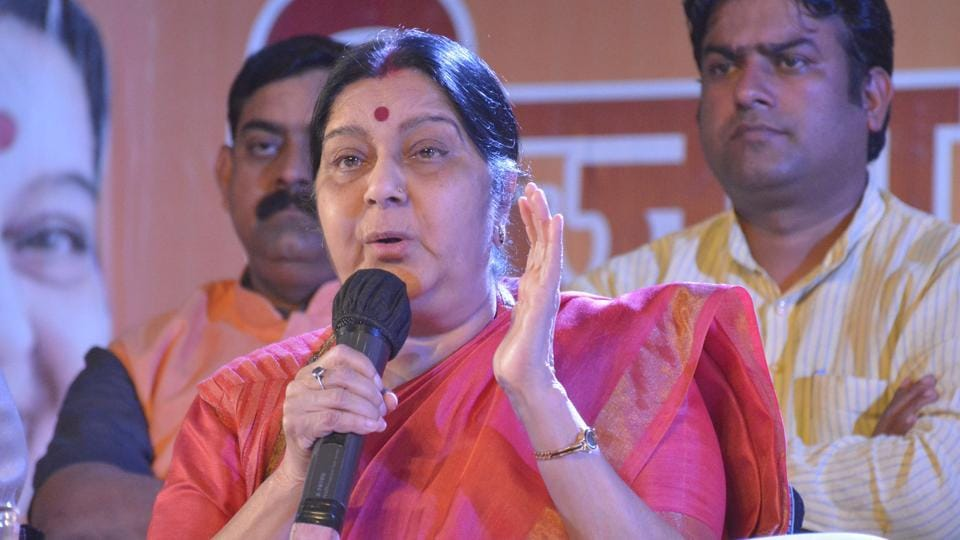"External Affairs Minister Sushma Swaraj, who is known for her prompt replies on Twitter, on Sunday clarified that it was her who sent out the tweets and ""not her ghost""."