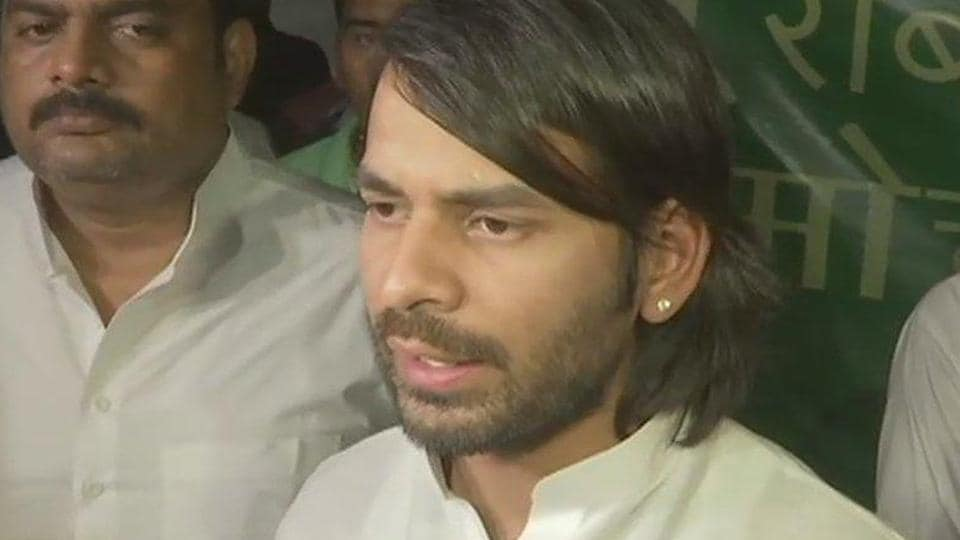 Rumours have also been doing the rounds that Tej Pratap will contest the Lok Sabha election from the Saran parliamentary seat to defeat his own father-in-law Chandrika Rai