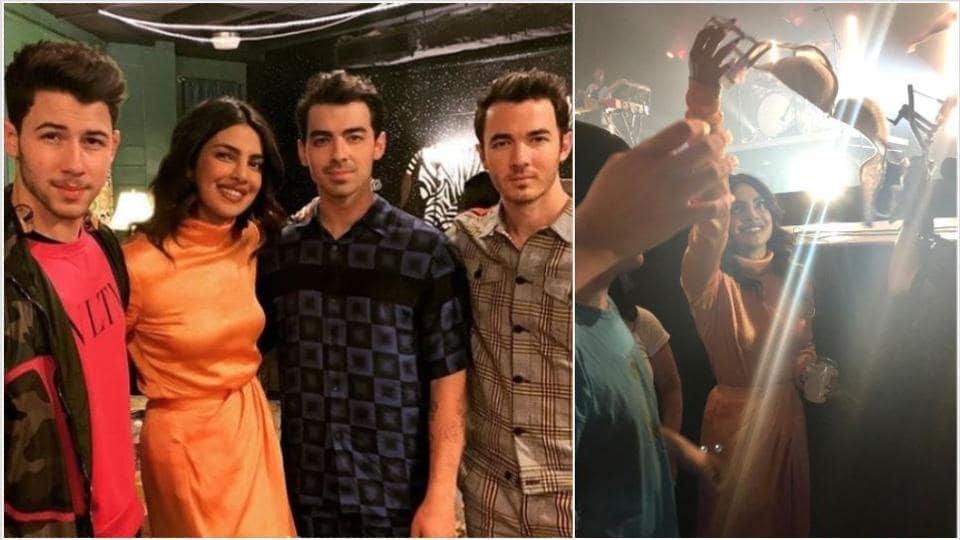 Priyanka Chopra made some great memories at her first Jonas Brothers concert.